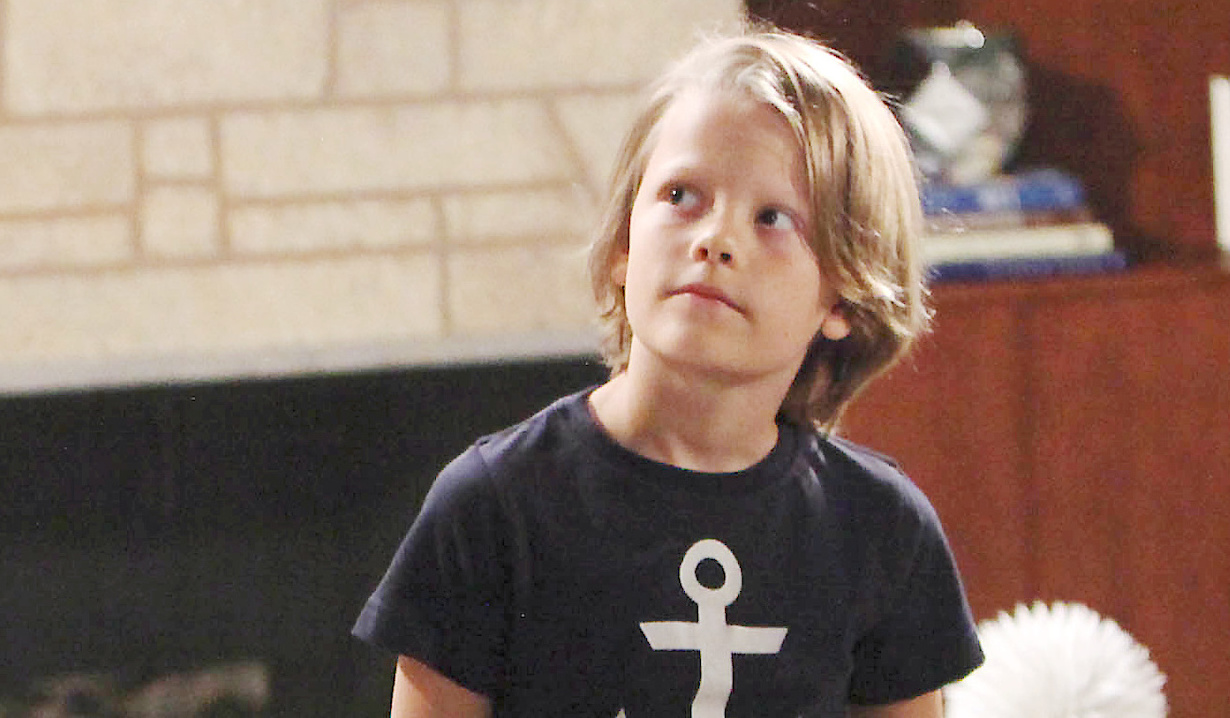 Finnegan George as Will Spencer on Bold and Beautiful