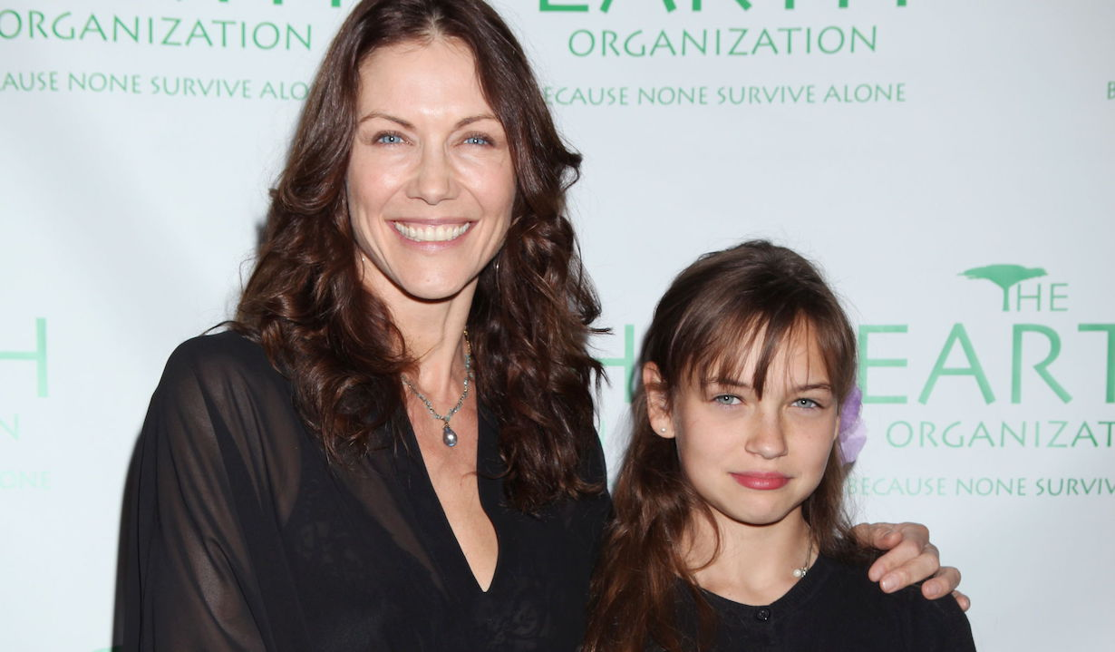 Stacy Haiduk and daughter Sophia TatumThe Earth Organization Awareness Dinner Hosted by Michelle StaffordPrivate Residence, Los Angeles, CA10/13/11© Howard Wise/jpistudios.com310-657-9661