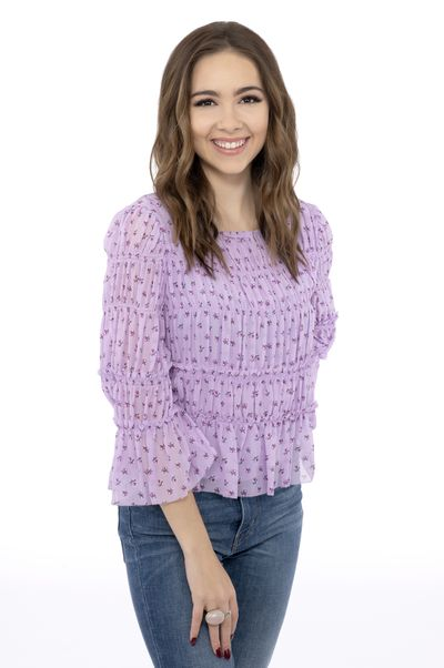 Haley Pullos as Molly Lansing Davis on General Hospital