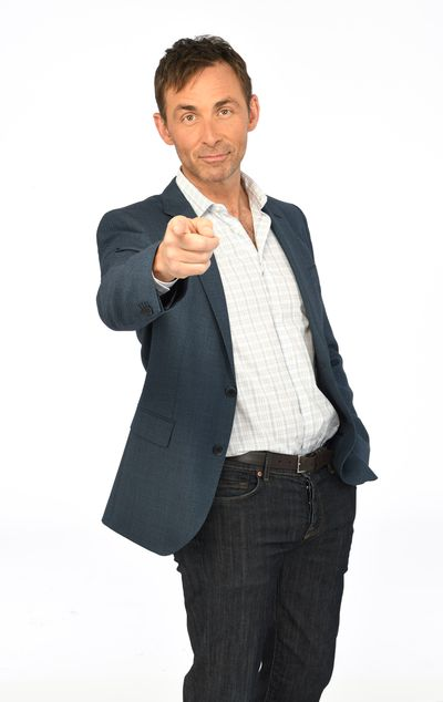 James Patrick Stuart as Valentin Cassadine on General Hospital