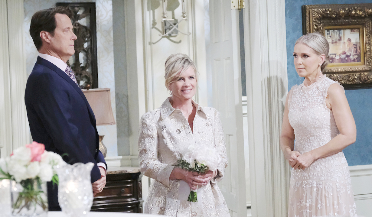 Kayla walks down the aisle days of our lives