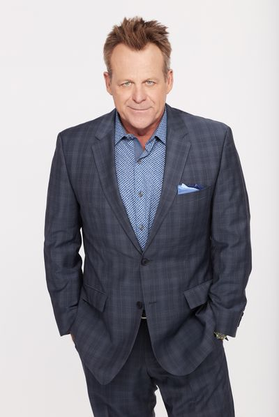 Kin Shriner as Scott Baldwin on General Hospital