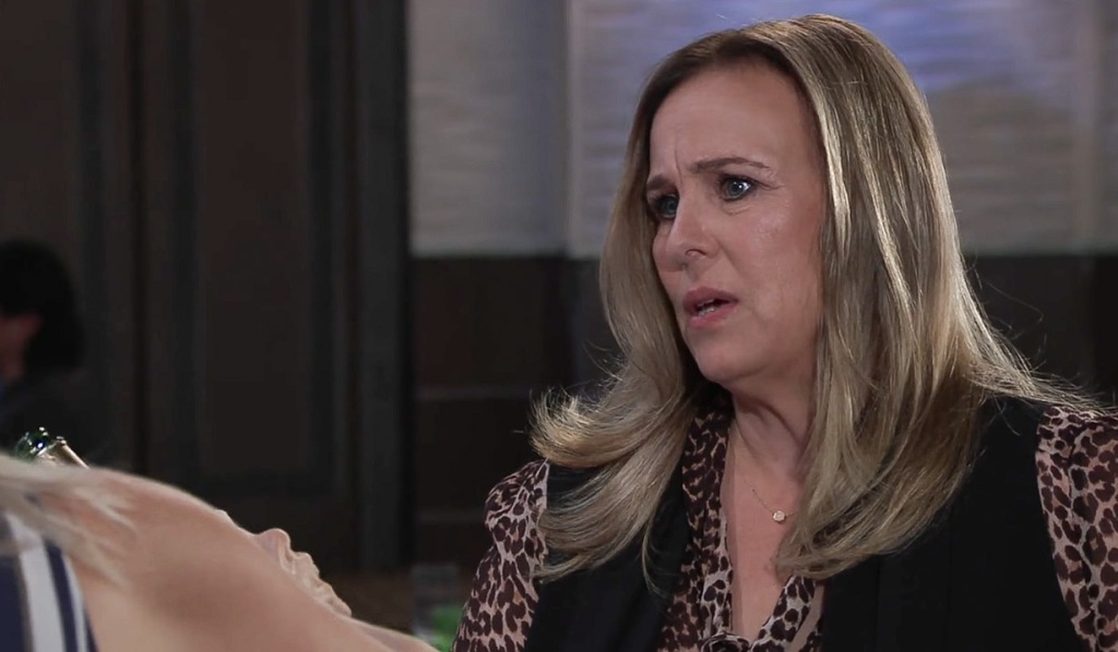 Laura questions Carly's marriage GH
