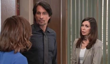 Liz catches Finn confessing to Anna GH