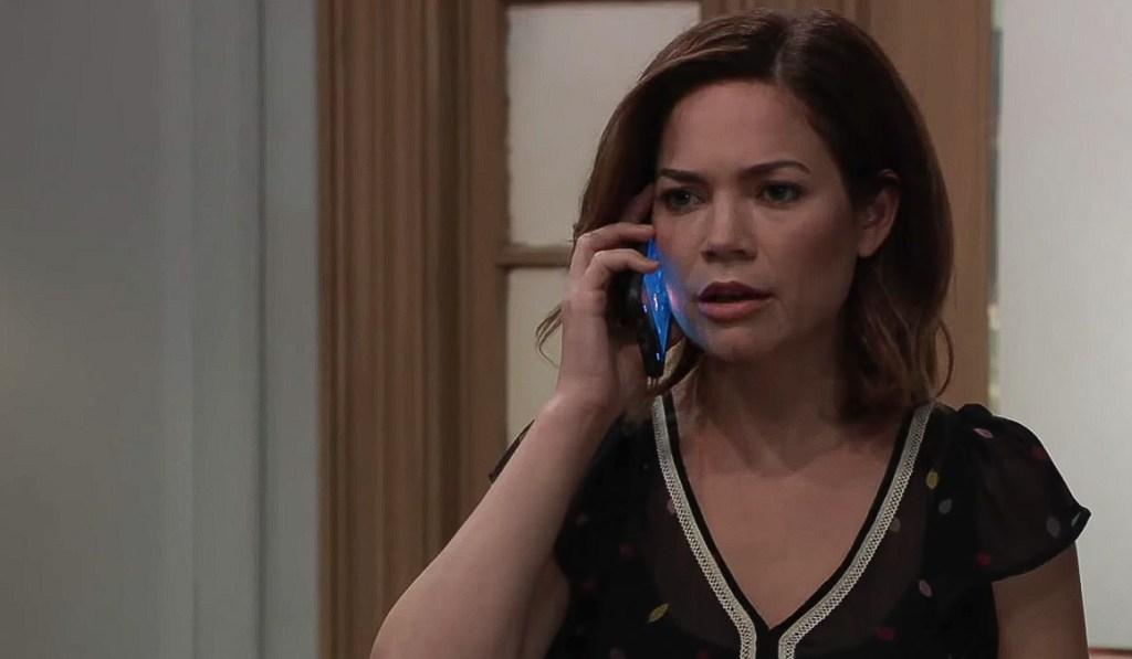 Liz makes a call about Hayden GH