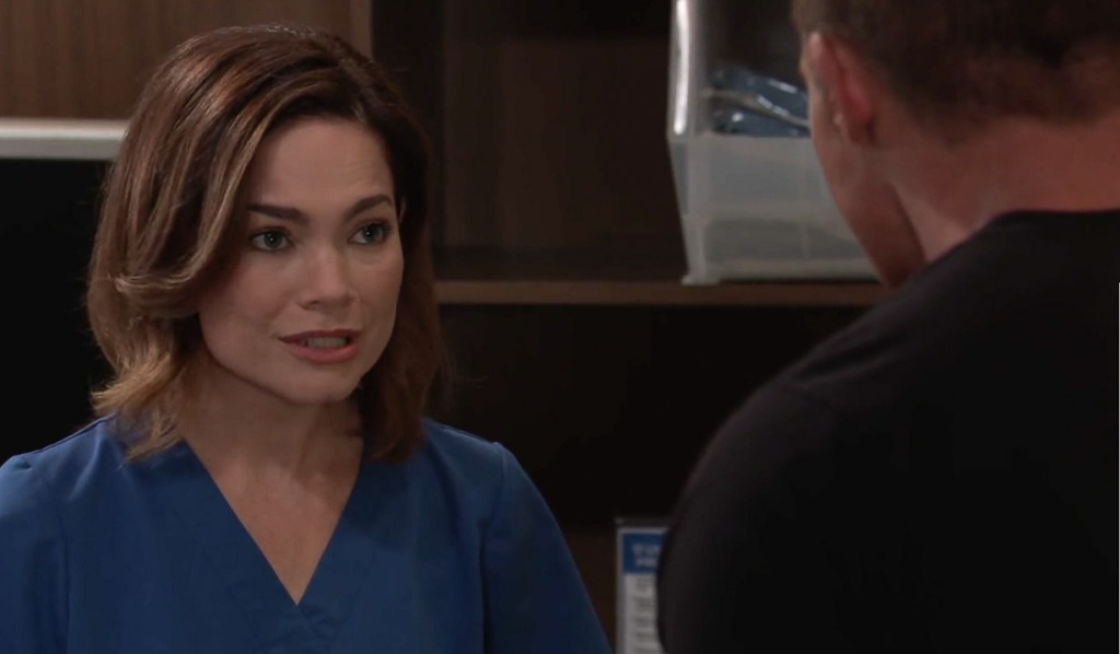 Liz hopes they can find out where Peter is GH