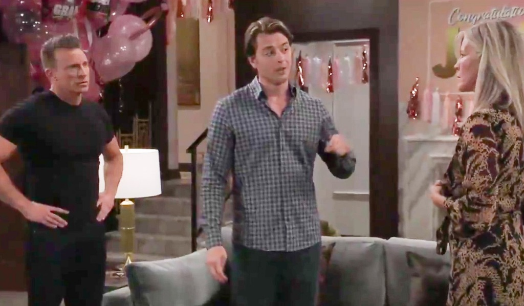 Michael grills Jason and Carly GH