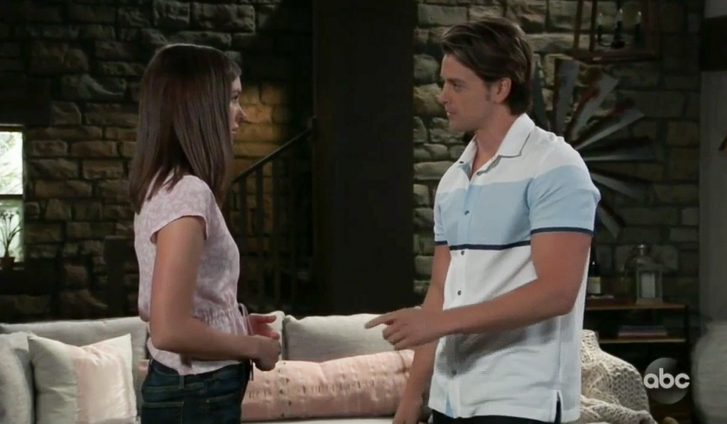 Michael and Willow can't stay away from one another GH
