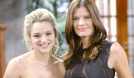 """summer phyllis Hunter King, Michelle Stafford""""The Young and the Restless"""" Set CBS television CityLos Angeles05/02/13© sean smith/jpistudios.com310-657-9661"""