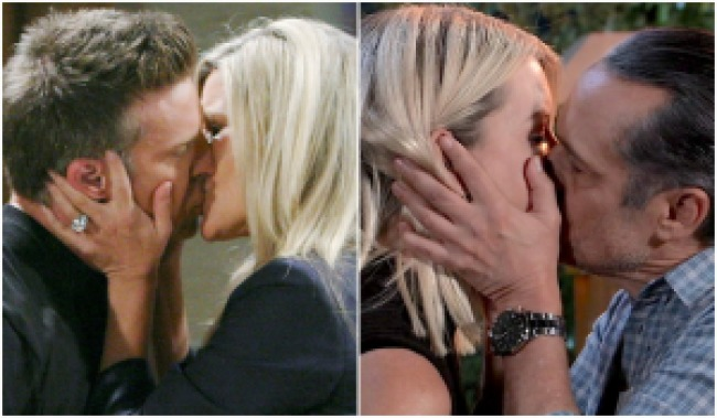 GH Jason Carly Sonny Mike Nina kiss mashup