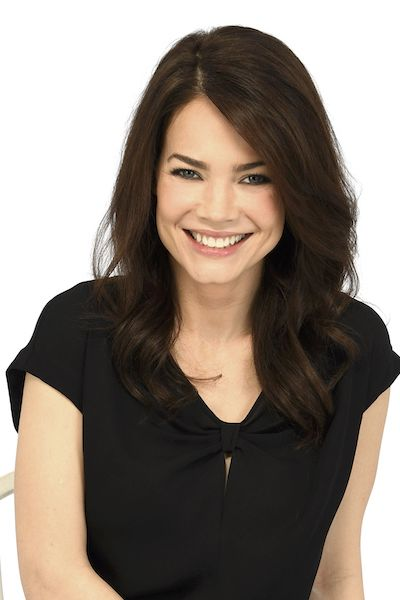 Rebecca Herbst as Elizabeth Webber on General Hospital