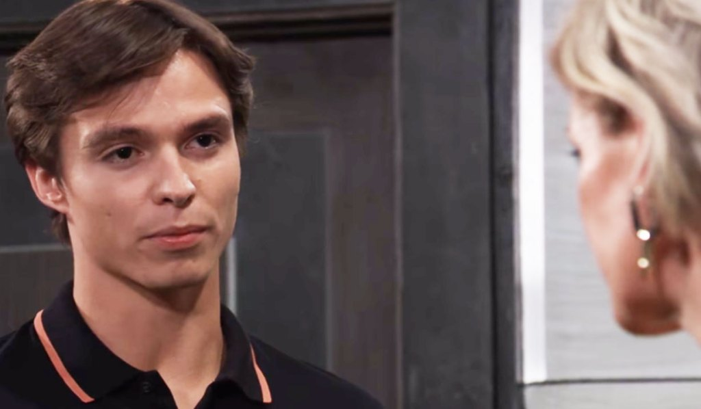 spencer asks ava to put past behind them gh