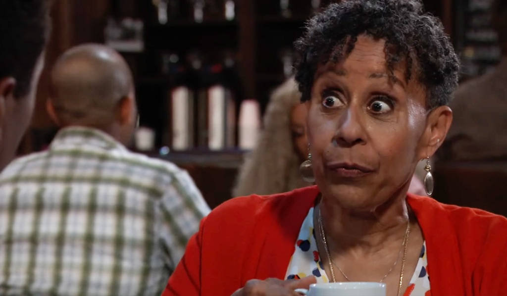 Aunt Stella schemes to keep Jordan and Curtis together GH