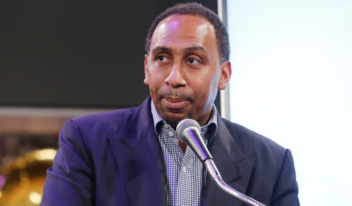 Stephen A. Smith at the 40th Anniversary Celebration of Eric Braeden Starring on The Young and the Restless on the set at CBS Television City on February 7, 2020© Howard Wise/jpistudios.com310-657-9661