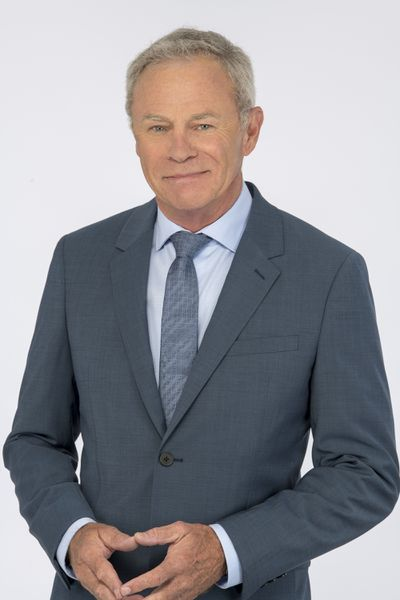 Tristan Rogers as Robert Scorpio on General Hospital