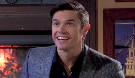 Xander gleefully tells Eric he slept with Nicole on Days of Our Lives