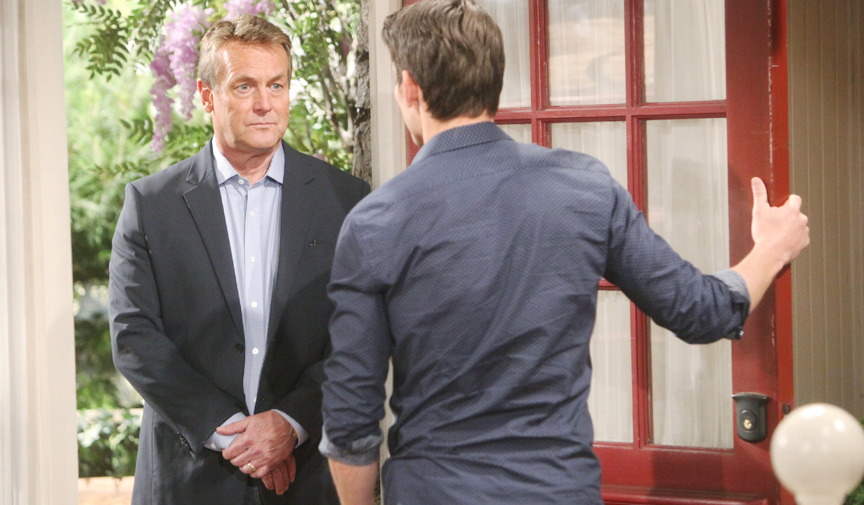 """Mark Grossman, Doug Davidson """"The Young and the Restless"""" Set CBS television City Los Angeles 05/08/19 © Howard Wise/jpistudios.com 310-657-9661 Episode # 11704 U.S. Airdate 06/11/19"""