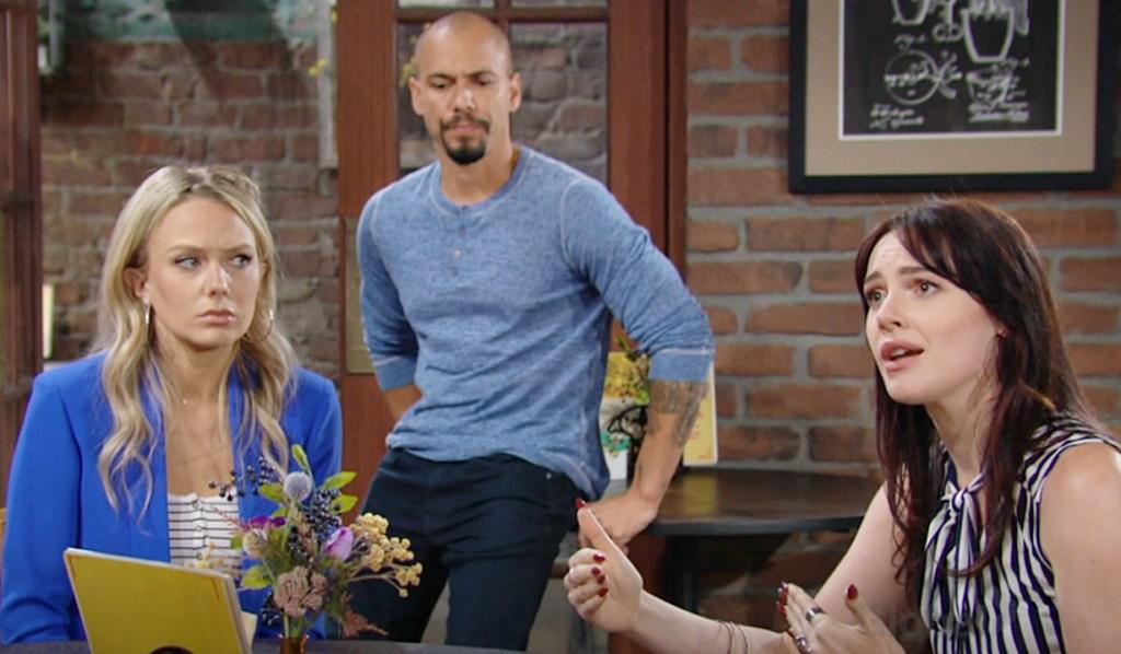 Abby, Devon, Tessa Y&R