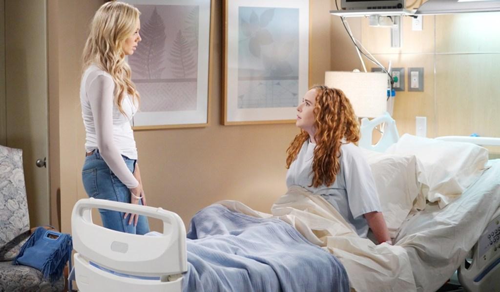 Abby, Mariah panic Y&R