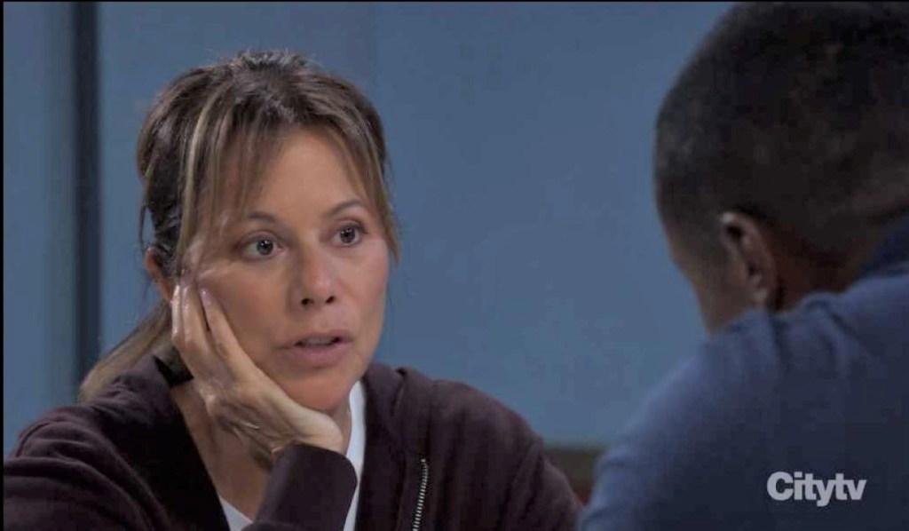 Alexis and Sean talk Hayden at Spring Ridge General Hospital