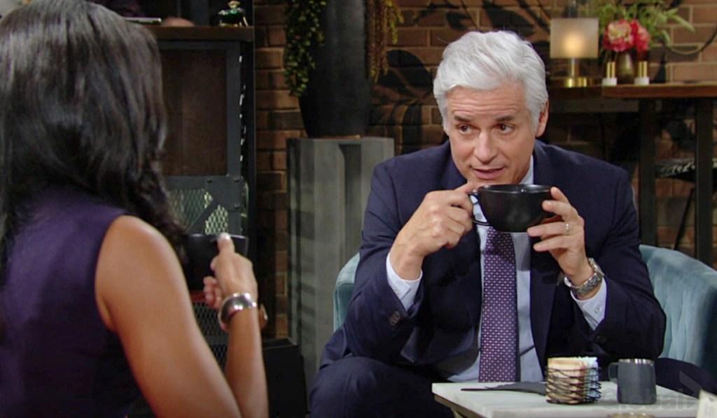 Amanda, Michael talk Y&R