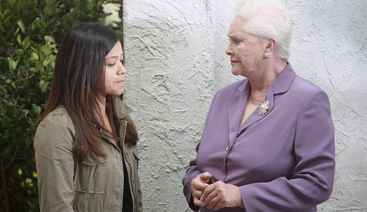 """Susan Flannery, Gina Rodriguez """"The Bold and the Beautiful"""" Set CBS Television City Los Angeles 12/06/11 ©sean smith/jpistudios.com 310-657-9661 Episode # 6215 U.S.Airdate 12/13/11"""