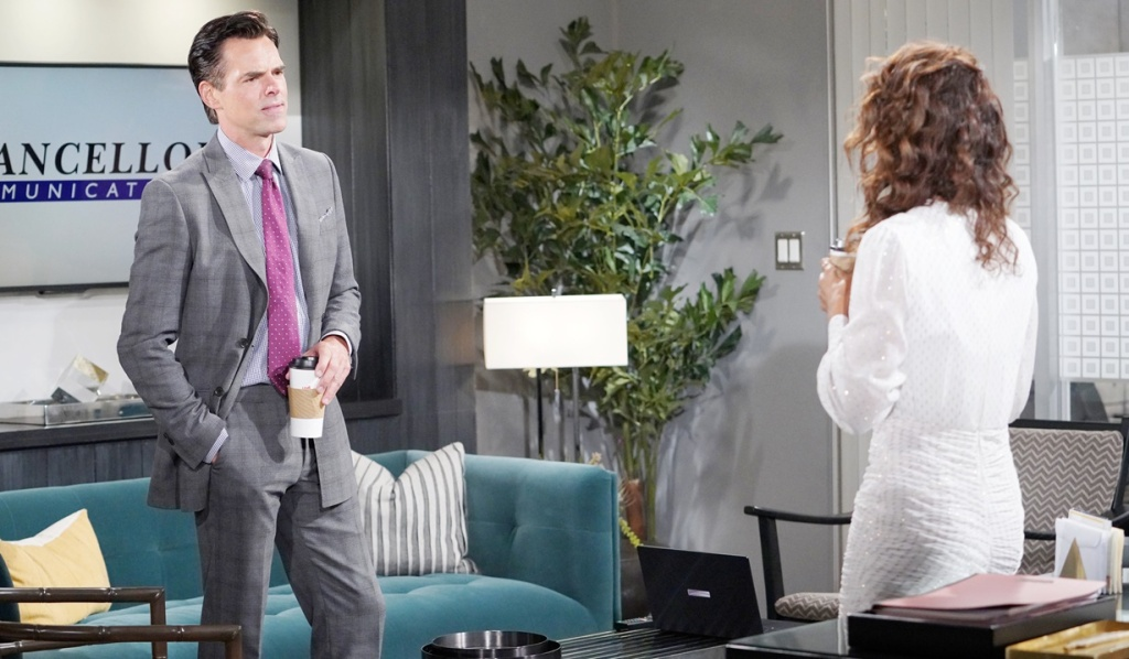 Billy, Lily office Y&R