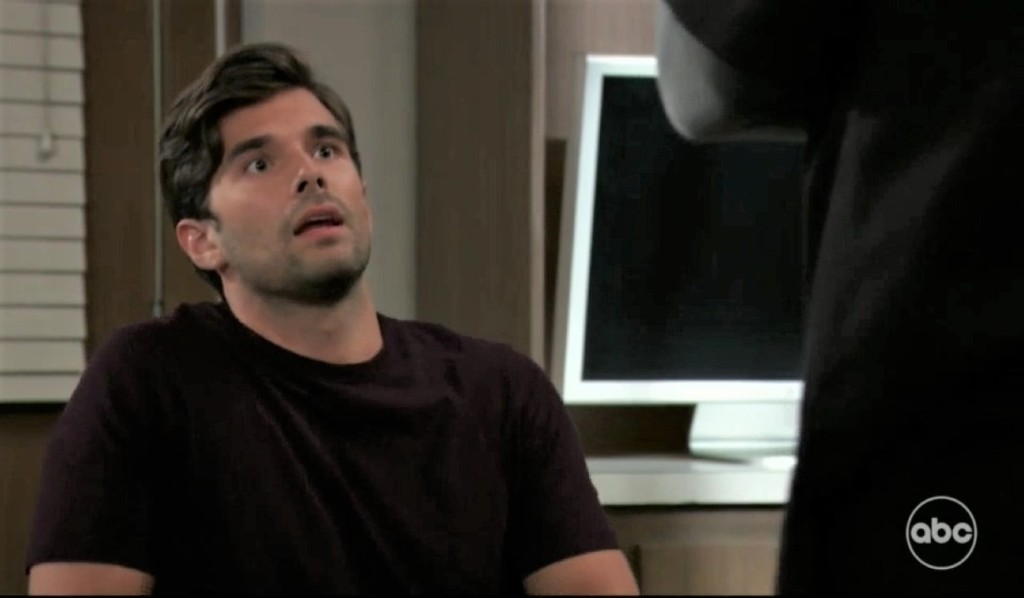 Chase vents to Austin at General Hospital