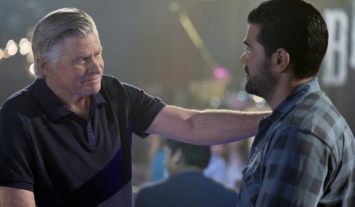 Chesapeake Shores season five Mick gives Trace advice hallmark