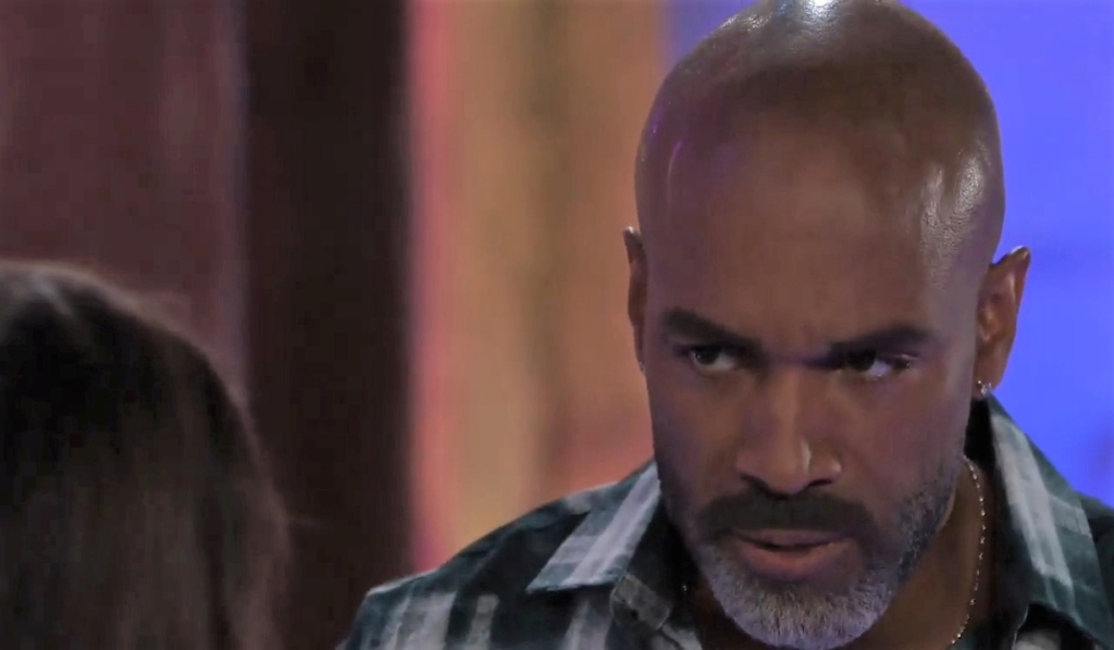 Curtis asks Sam if Drew is alive at The Savoy General Hospital