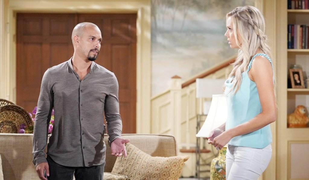 Devon, Abby concerned Y&R