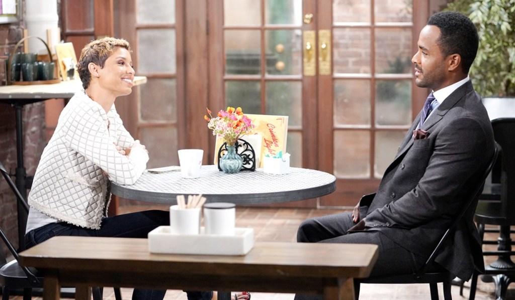 Elena, Nate discuss job Y&R