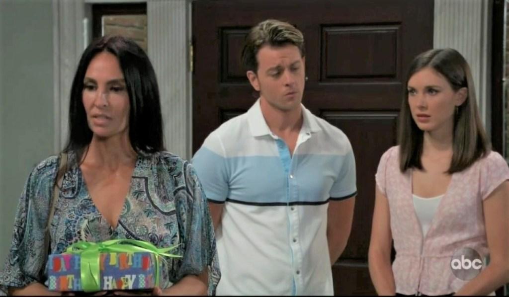 Harmony surprises Michael and Willow at Quartermaine estate General Hospital