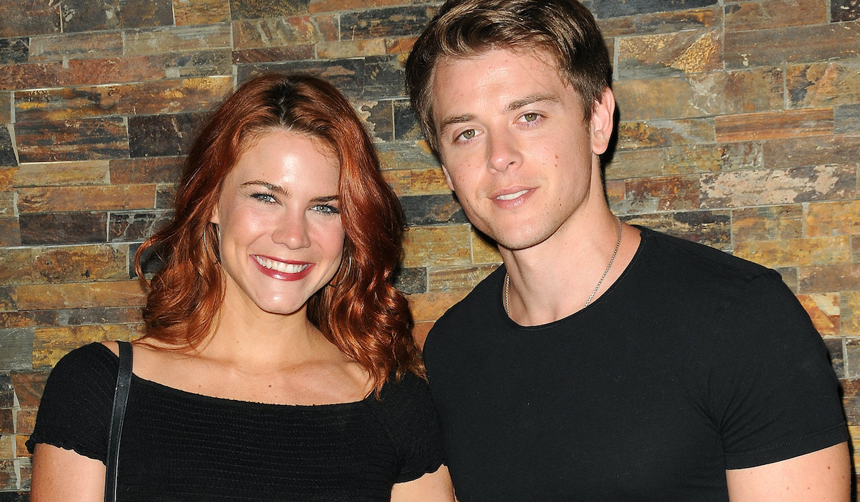 Chad Duell, Courtney Hope, at the General Hospital Fan Club Weekend Main Cast Lunch at Embassy Suites by Hilton Hotel in Glendale, Ca on July 28, 2018© Jill Johnson/jpistudios.com310-657-9661