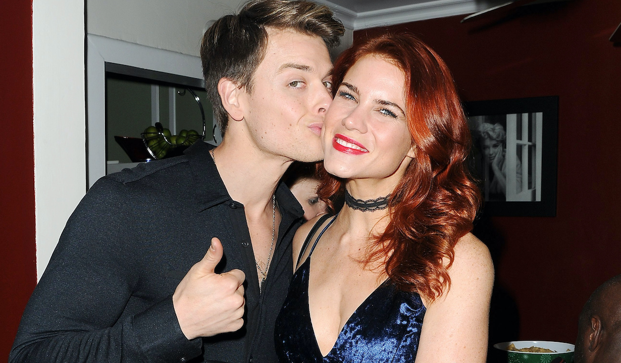 Chad Duell, Courtney Hope attends The Bay: The Series Christmas Party Hosted by Gregori J Martin at a Private Residence in North Hollywood, Ca. on December 12, 201712/12/17 © Jill Johnson/jpistudios.com310-657-9661