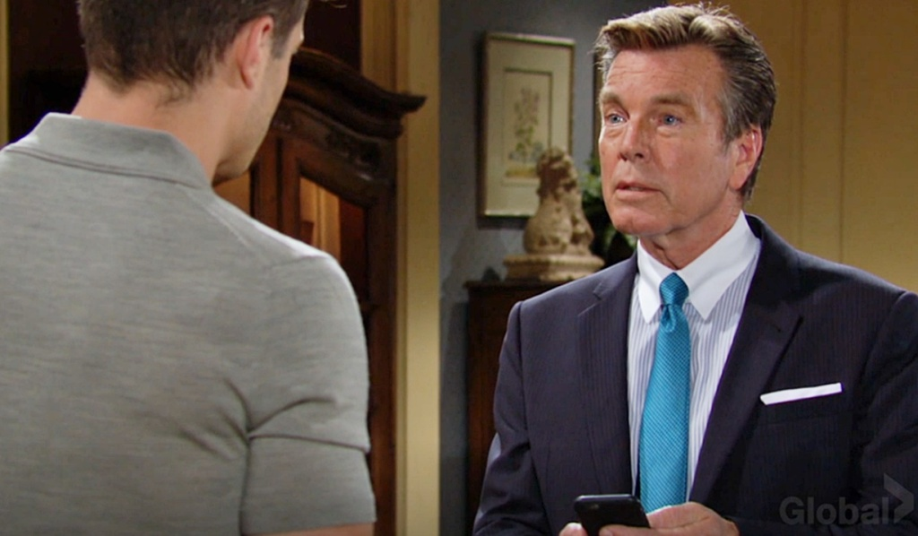 Jack reads text to Kyle Y&R
