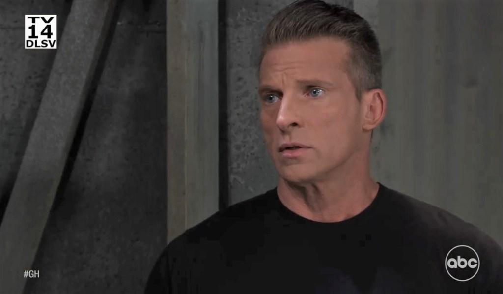 Jordan warns Jason about Cyrus on pier General Hospital