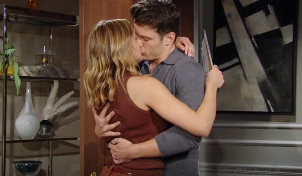 Kyle kiss Summer Y&R