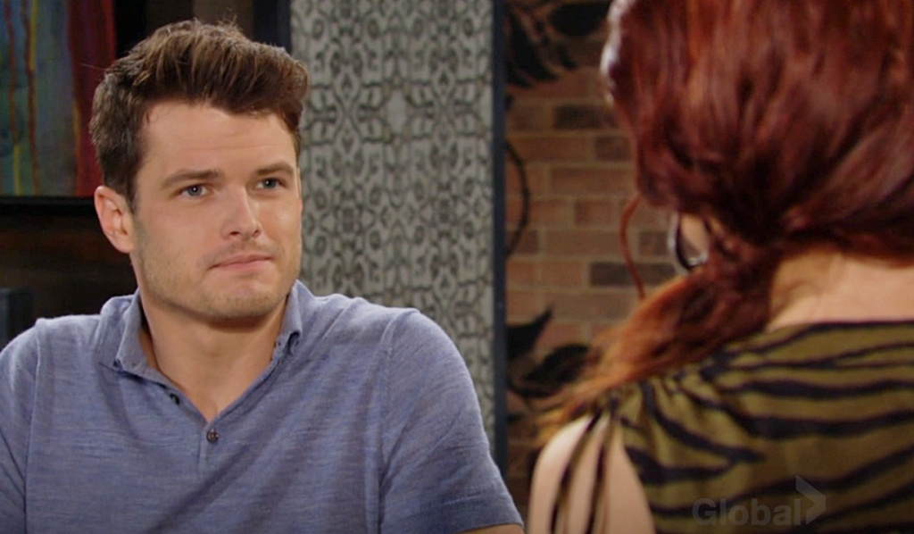 Kyle squares off with Sally Y&R