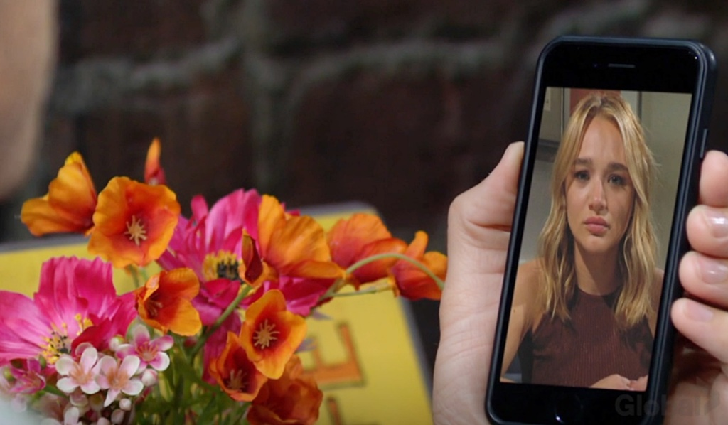 Kyle video chat Summer Y&R