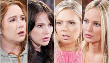 Mariah, Tessa, Abby, Sharon Y&R