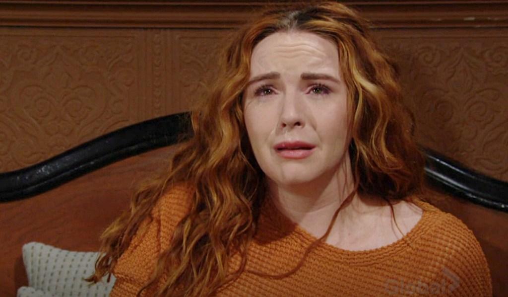 Mariah cry Y&R