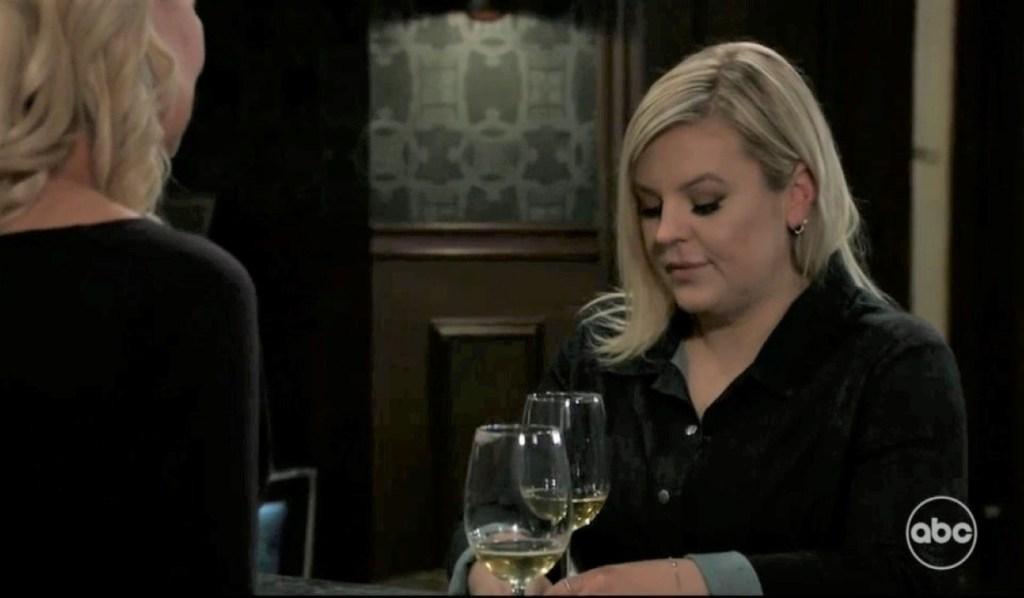 Maxie asks Nina for a favor at Tan-O General Hospital