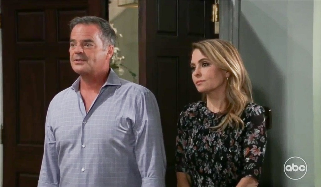 Ned reveals news about Tracy GH