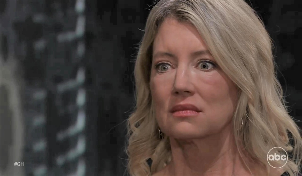 Mike notices Nina is startled at Tan-O General Hospital