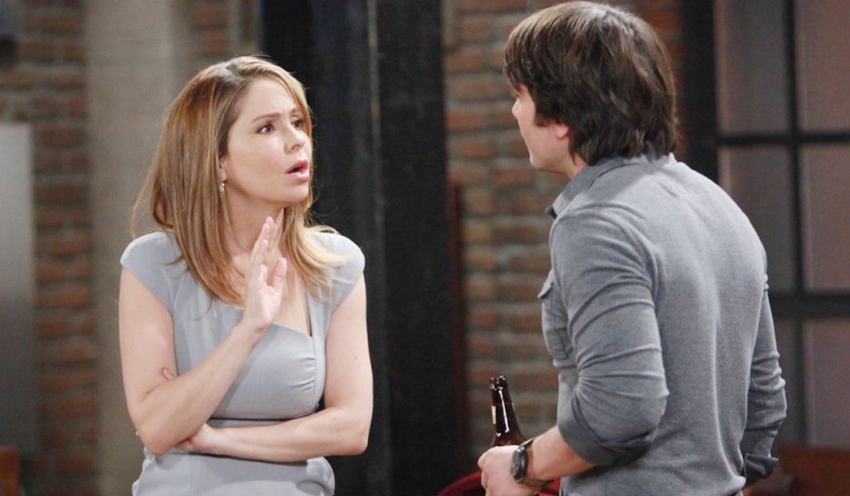 Dante Falconeri confronts Olivia Falconeri on General Hospital