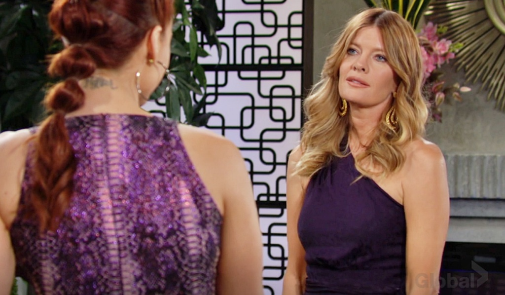 Phyllis confronts Sally Y&R