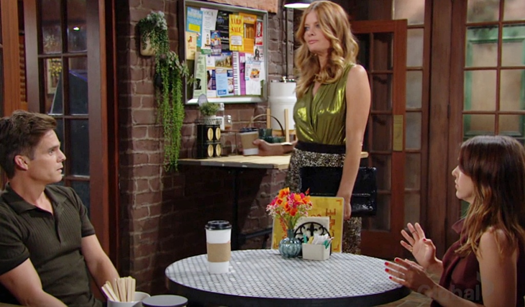 Phyllis warns Kevin and Chloe about Sally YR