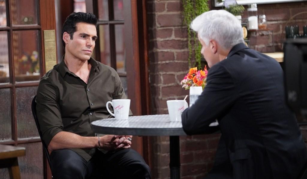 Rey, Michael talk Y&R
