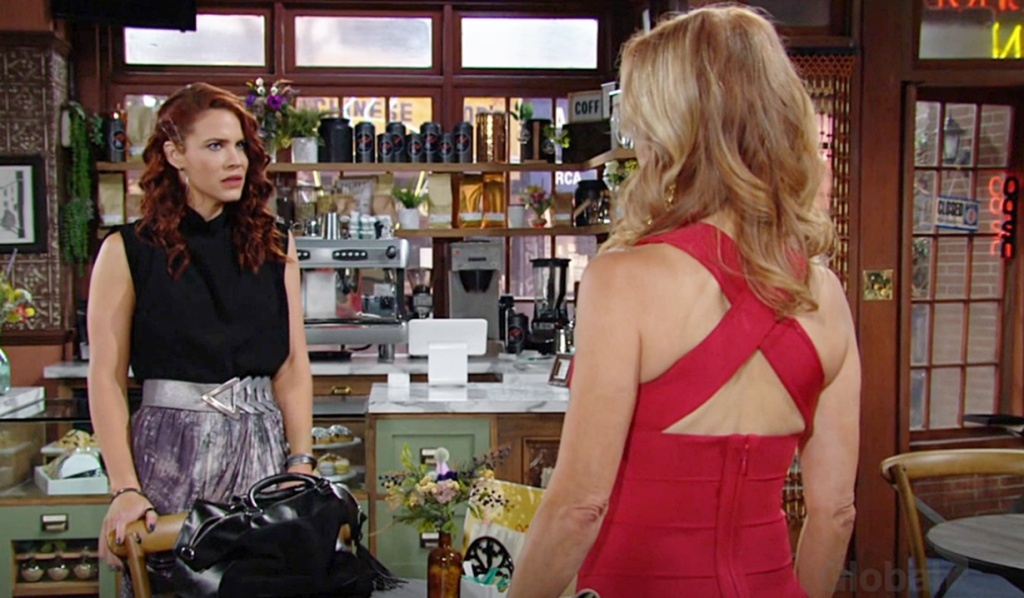 Sally confronted by Lauren Y&R